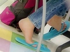 Feet flip flop