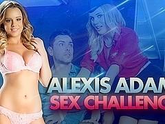 Alexis Adams & Ryan Driller  in Alexis Adams in DP Star Sex Challenge
