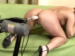 Linda Ray is getting banged hard by sex machine