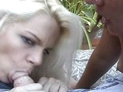 Video from Mytinydick: Redhead and blonde fun
