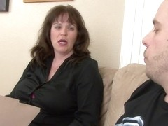 Ginger in Mature Hardcore Video