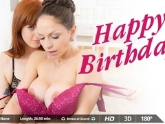 Irina Vega  Marta La Croft  Mickey Mod in Happy Birthday - VirtualRealPorn