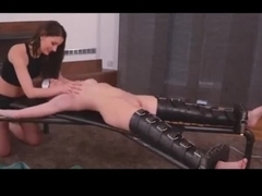 Blindfolded And Tickled To Orgasm