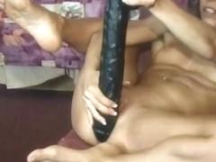 Two Hotties Anal Dildo Fucked And Cum Squirting