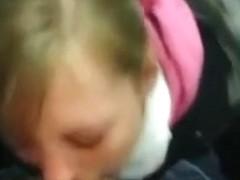 Fucking hawt blond beauty compilation of 3 blowjobs including a deepthroat