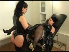 German Mistress fisting