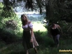 german fat chicks banged in nature