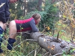 18 Year Old Public Forest Quickie