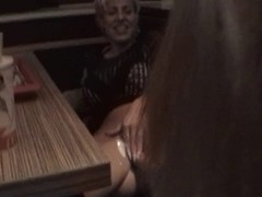 German mommy receives fisted in restaurant M.D