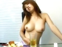 Asian girl belly stuffed part3