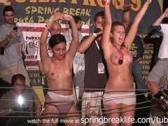 SpringBreakLife Video: Wet T Shirt Contest