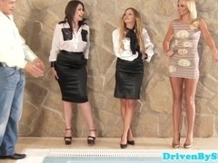 European groupsex action with classy beauties