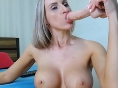 Melissa EXTREME THROAT FUCK Big Tit Blonde