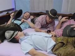 dirty nurses in lederhosen gangbang