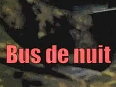 Exhibe in night's bus