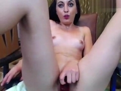 Adelmyra fingering and fucking her pussy