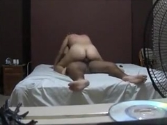 Amateur webcam vid of me riding my husband's dong