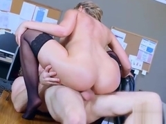 Sex Tape With Big Round Tits Office Naughty Girl (Kagney Linn Karter) mov-11
