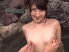 Horny Japanese slut Saki Kobashi in Best JAV uncensored Dildos/Toys scene