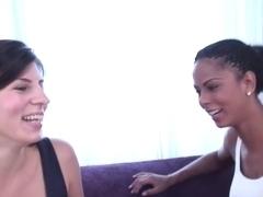 Incredible pornstar Fernanda Minsk in amazing latina, lesbian porn clip