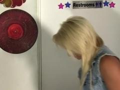 Horny pornstar Delilah Davis in amazing blowjob, facial porn scene