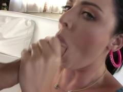 Cumming inside Sophie Dee