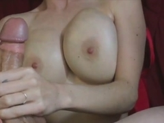 Handjob After college Before Mom's Home