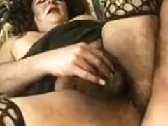 Visit to a mature tranny