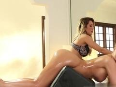 Exotic pornstars Capri Cavanni, Phoenix Marie in Amazing Fingering, Cunnilingus adult clip