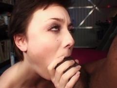 Exotic pornstar Zoe Voss in incredible brazilian, facial adult clip