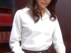 Perfect sex story along Asian secretary,Ibuki