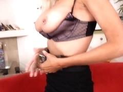 Danny Wylde gets sucked by busty milf Emma Starr