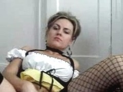 Amazing Dutch babe records herself masturbating for her bf