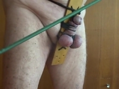 Self-CBT and ass spanking