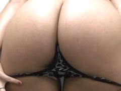 Gorgeous girl gets her ass fucked hard on her first porn casting