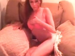 hot amateur chick fucking on webcam