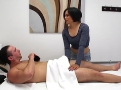 Milcah Halili Gives Her Client A Nice Massage And Pounded