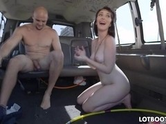 Big ass Lilith Addams get fucked in car