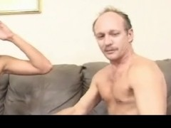 Legal Age Teenager is interviewed with one sleazy old guy PART2