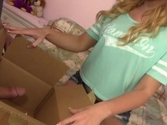 Tiny Blond Teen Babe Lucy Tyler Stretched Beyond Belief Hd