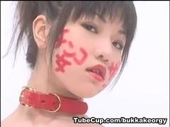 JapaneseBukkakeOrgy: Japanese Schoolgirl Bukkake