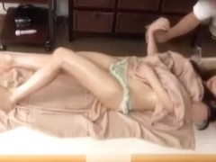Schoolgirl japanese massage and fucked 001