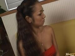 Horny   Erena Fujimori gets a wet creampie