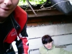 Crazy Amateur movie with Couple, Outdoor scenes