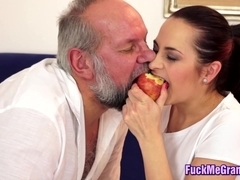Horny Gramps Fucking Young GF