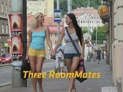Lesbian threesome with lots off ###ing