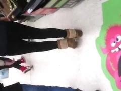 shopping leggings