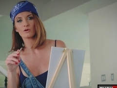 Izzy Bell and Silvia Saige in Arts And Sex Crafts