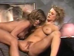 Incredible lesbian classic scene with Paul Thomas and Tom Byron