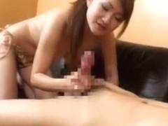 Incredible Japanese girl Risa Hano in Horny Handjobs, Big Tits JAV scene